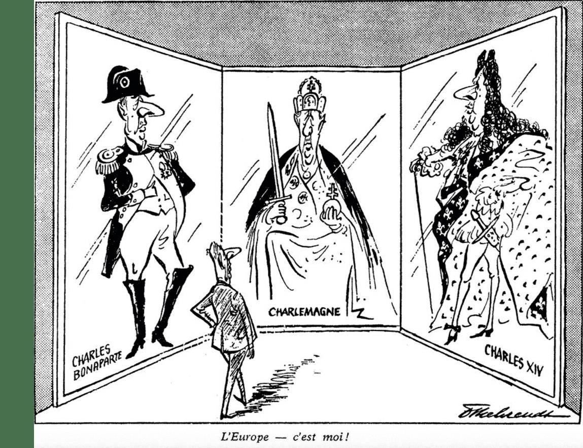 L'exercice du pouvoir par de Gaulle