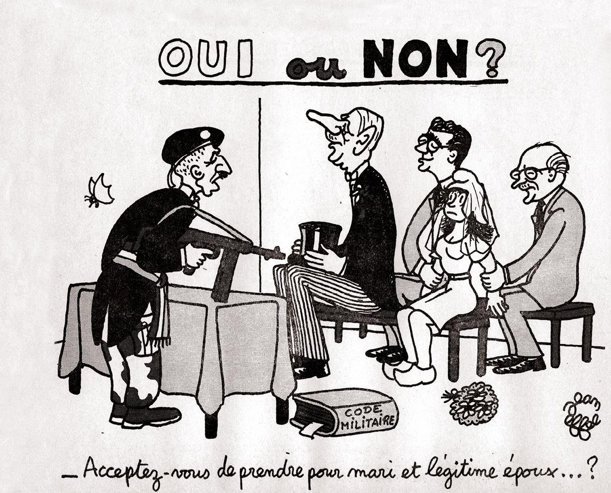 Charles de Gaulle critiqué