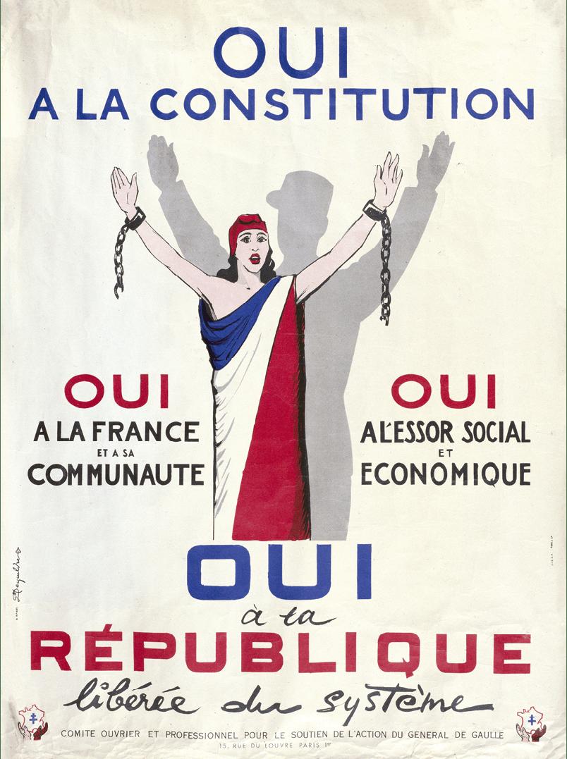 Une constitution soumise à un référendum