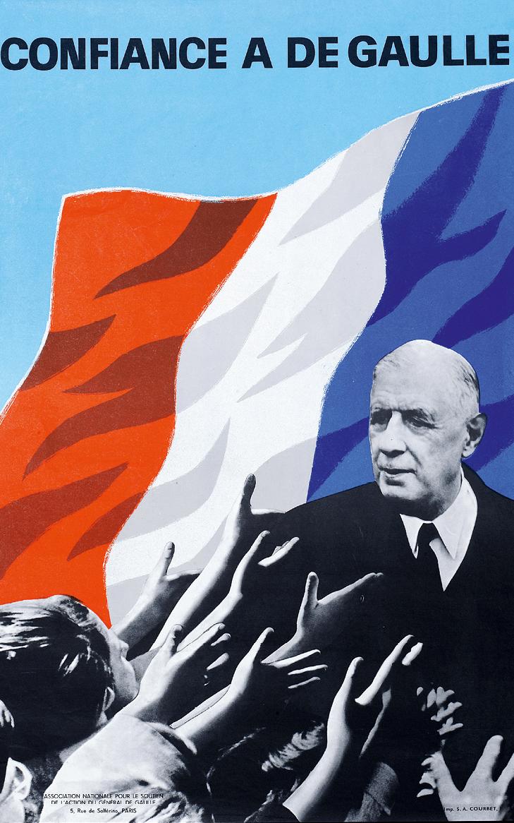 Confiance à De Gaulle