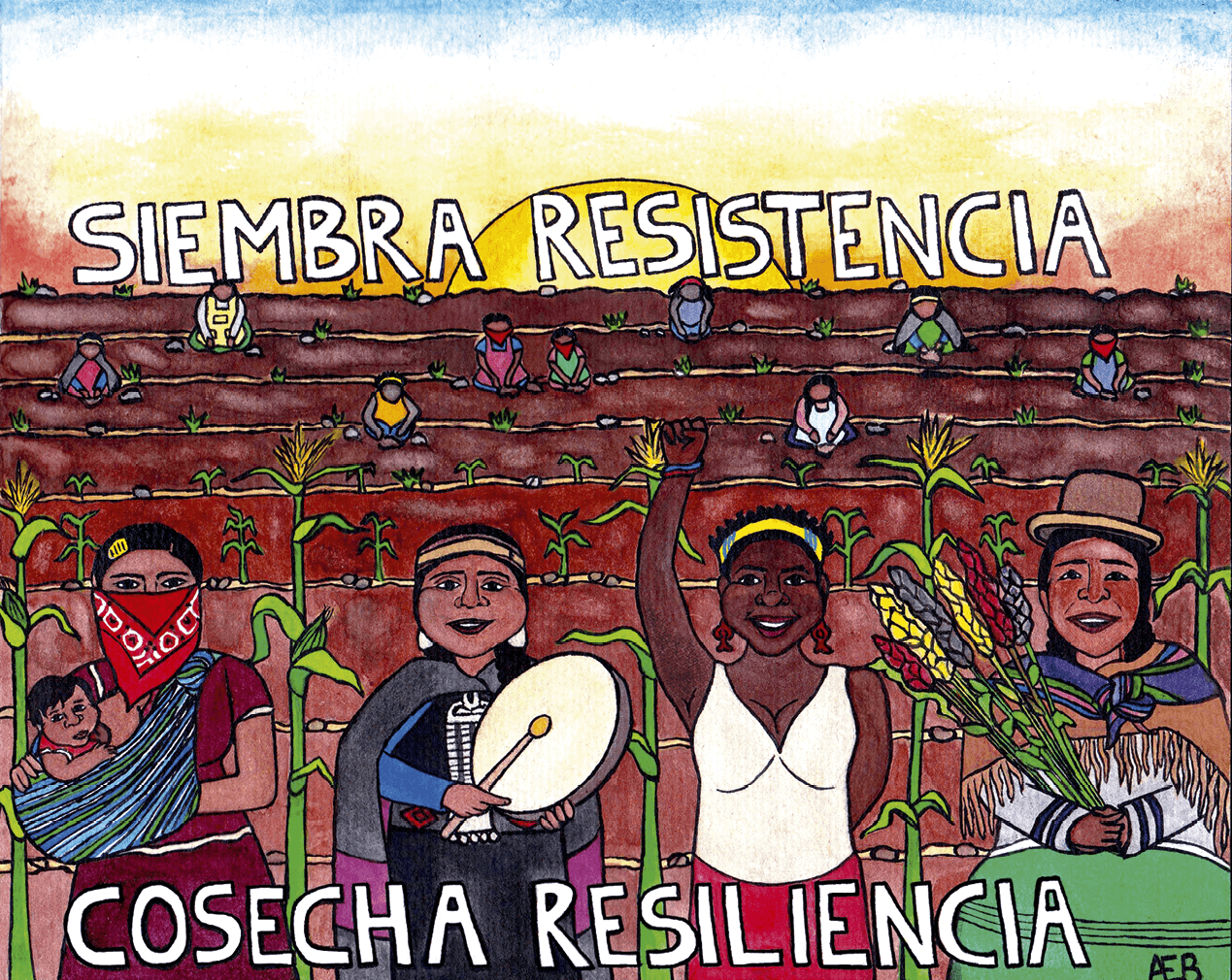 AEB, Siembra resistencia Cosecha resiliencia, 2019
