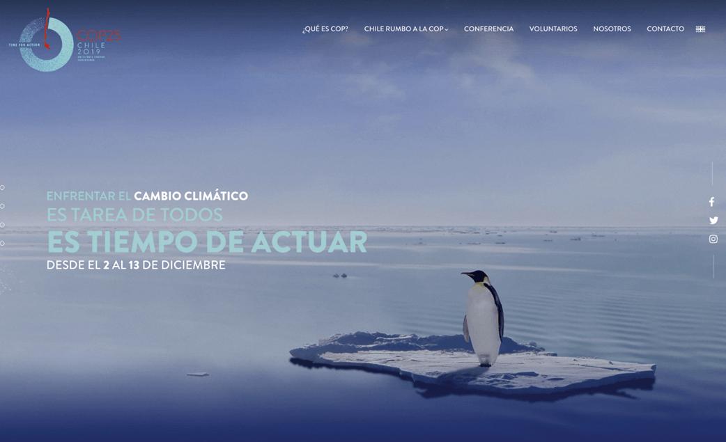 Campaña «Es tiempo de actuar», COP25 Chile 2019