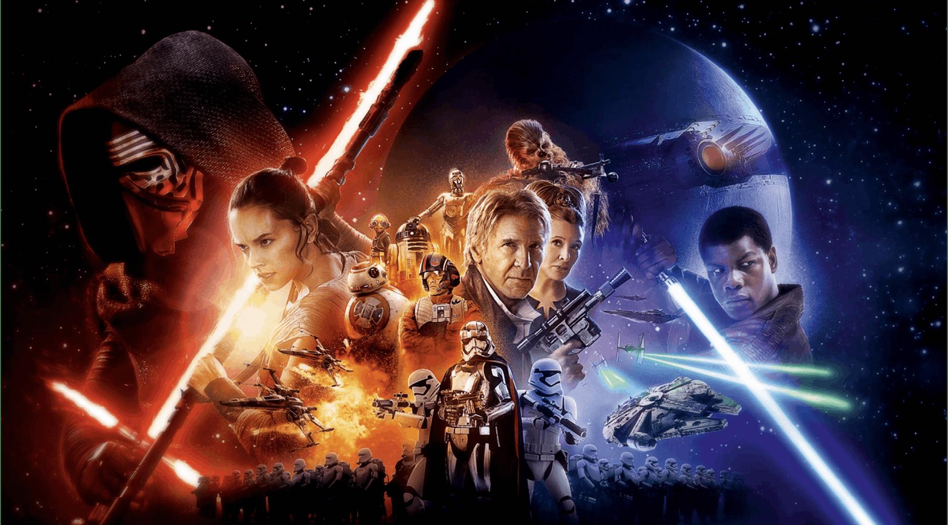 Star Wars poster 2015