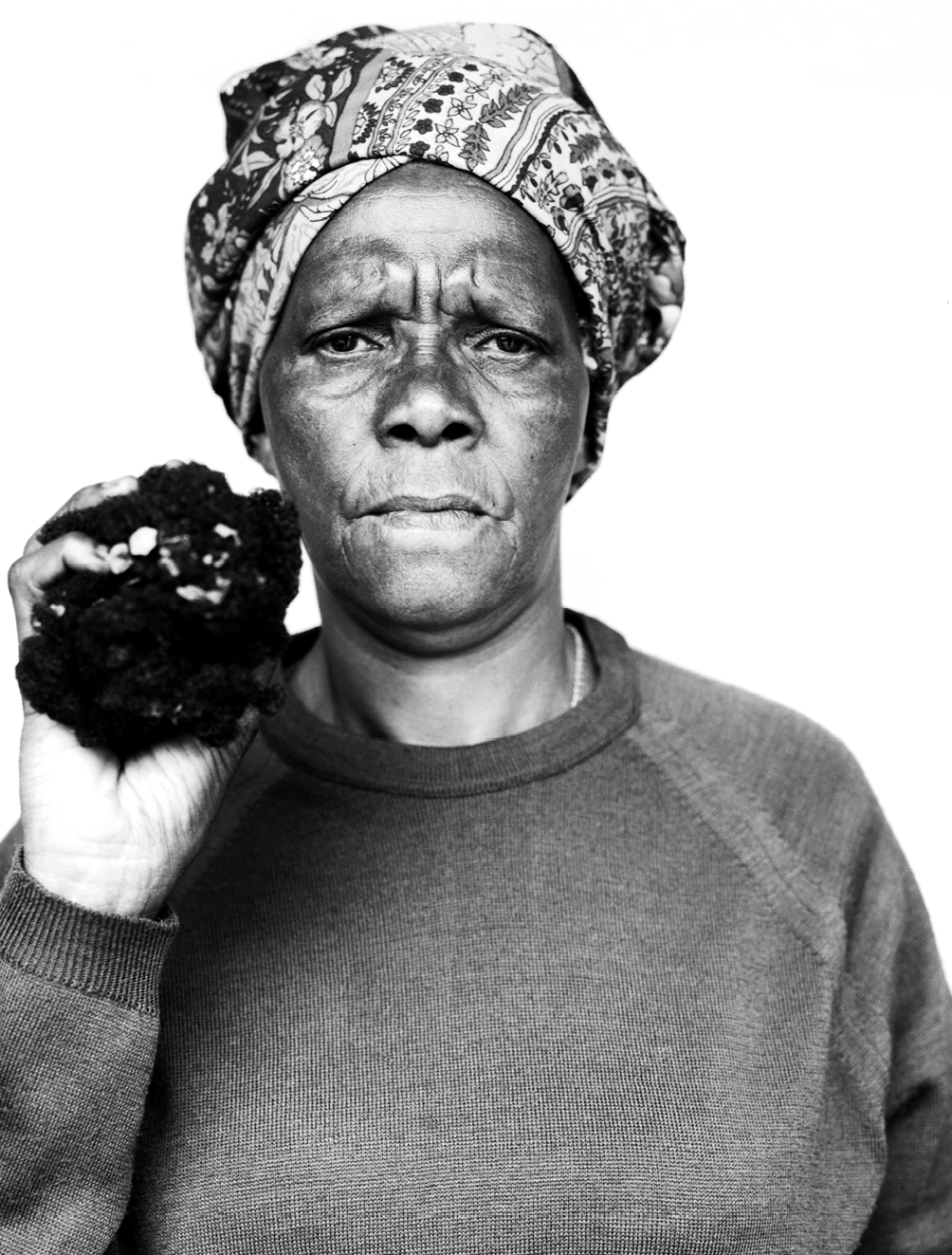 Jillian Edelstein, Joyce Mtimkulu, 1997, photographie.