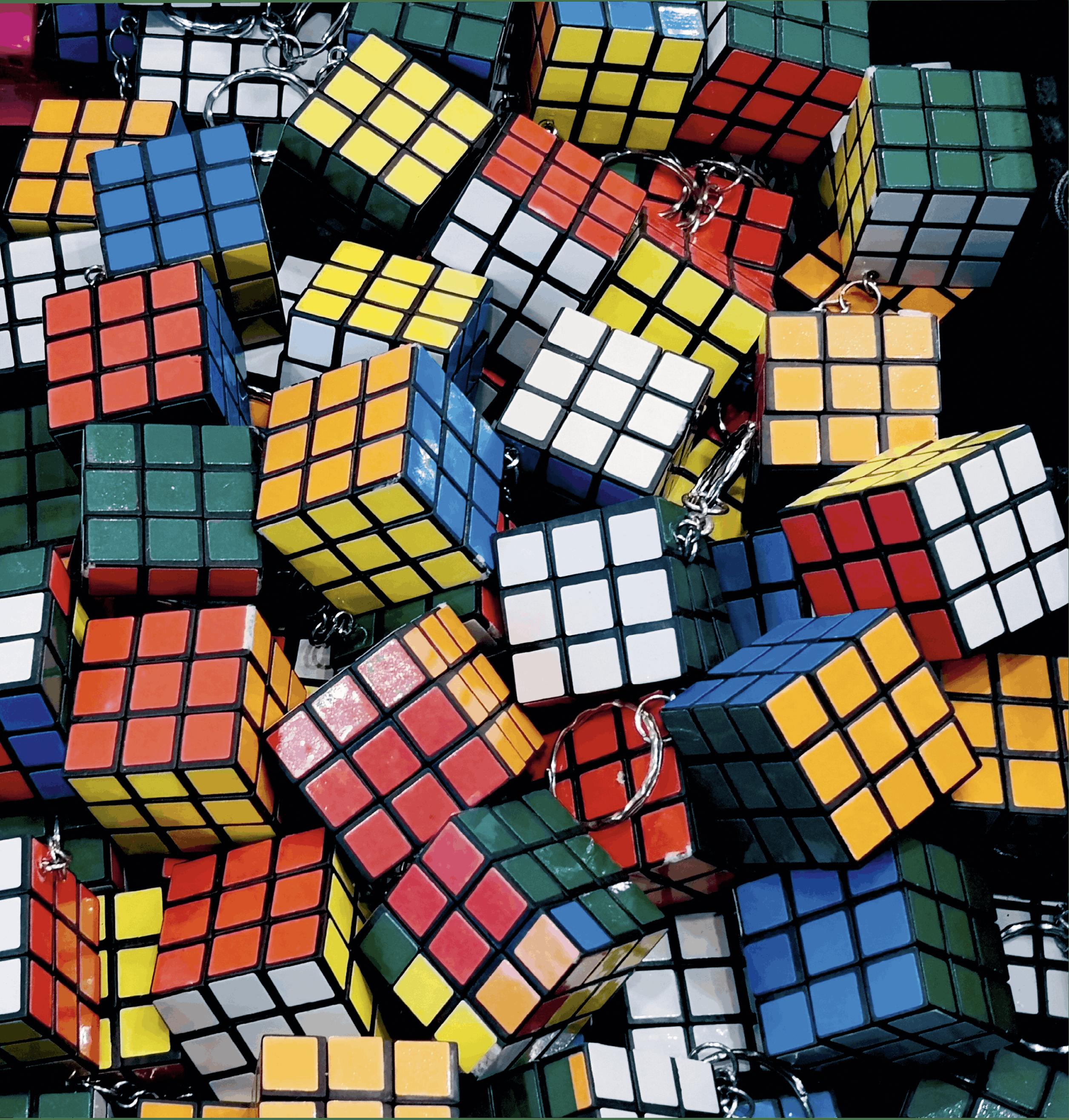 Combinatoire et dénombrement - Ouverture - rubikscube