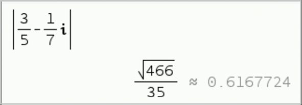 Géométrie et nombres complexes