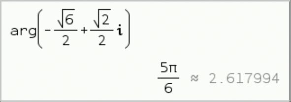 Maths expertes - chapitre 2 - Nombres complexes, point de vue géométrique - exercice 86