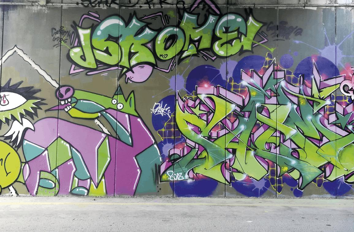 Mural en Galdakao (Vizcaya), Sin título, 2019