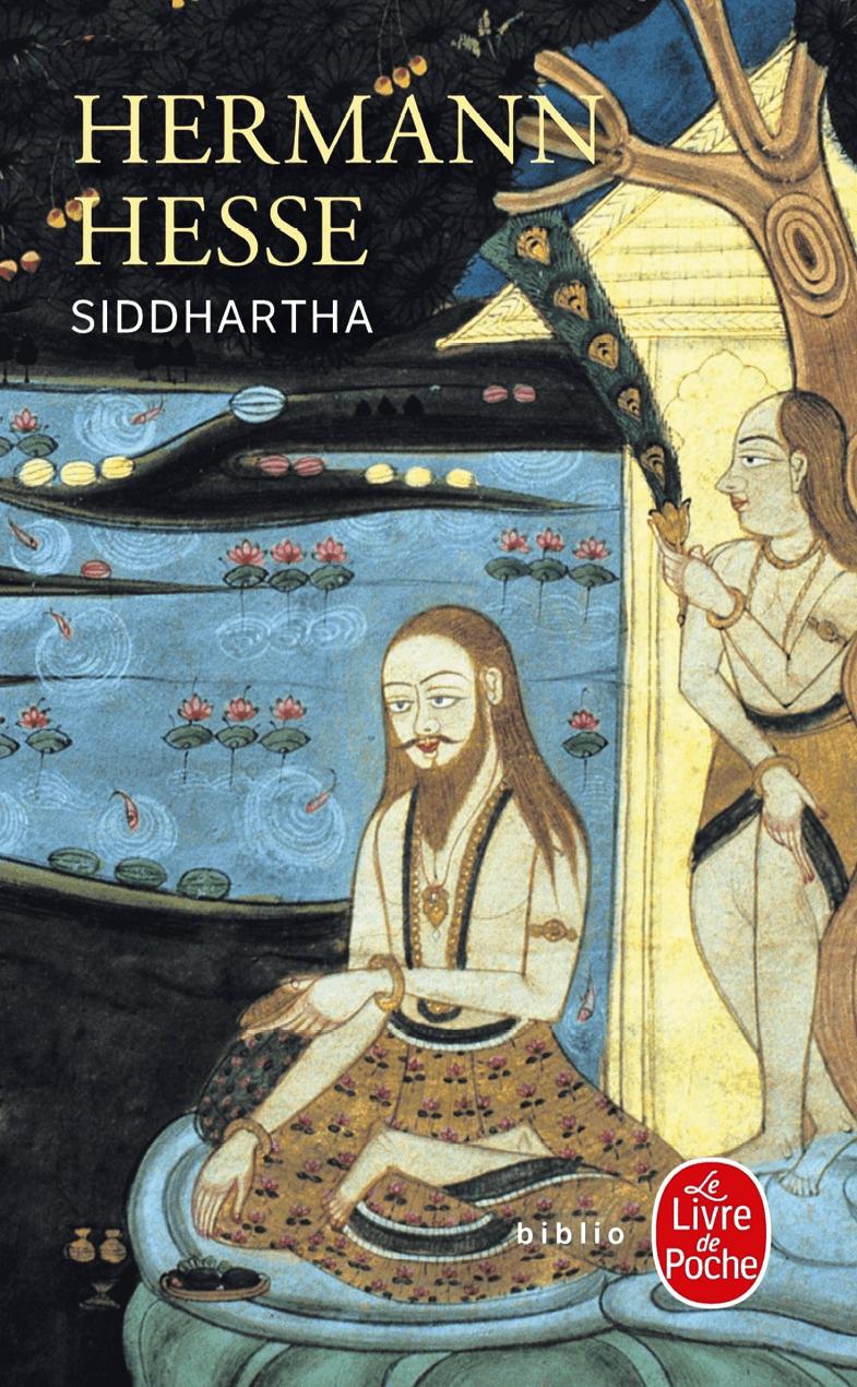 couvertyre du livre Siddhartha de Hermann Hesse, 1922