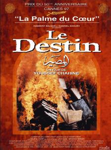 Affiche du film Le Destin de Youssef Chahine, 1997