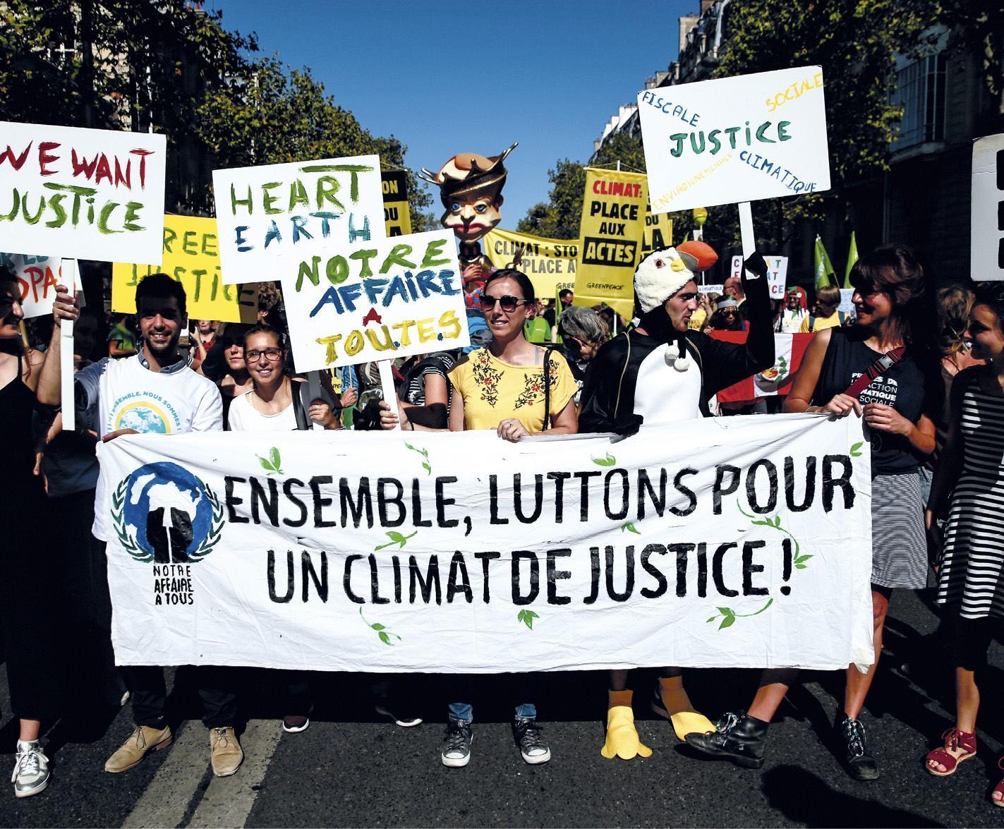Une nouvelle forme d'engagement: la lutte contre le réchauffement climatique