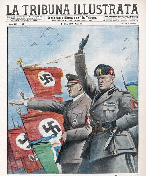 Mussolini rend visite à Hitler, La Tribuna Illustrata, 3 octobre 1937
