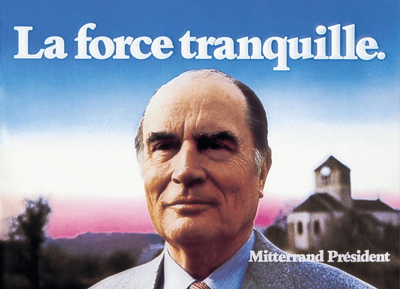 Affiche Mitterrand