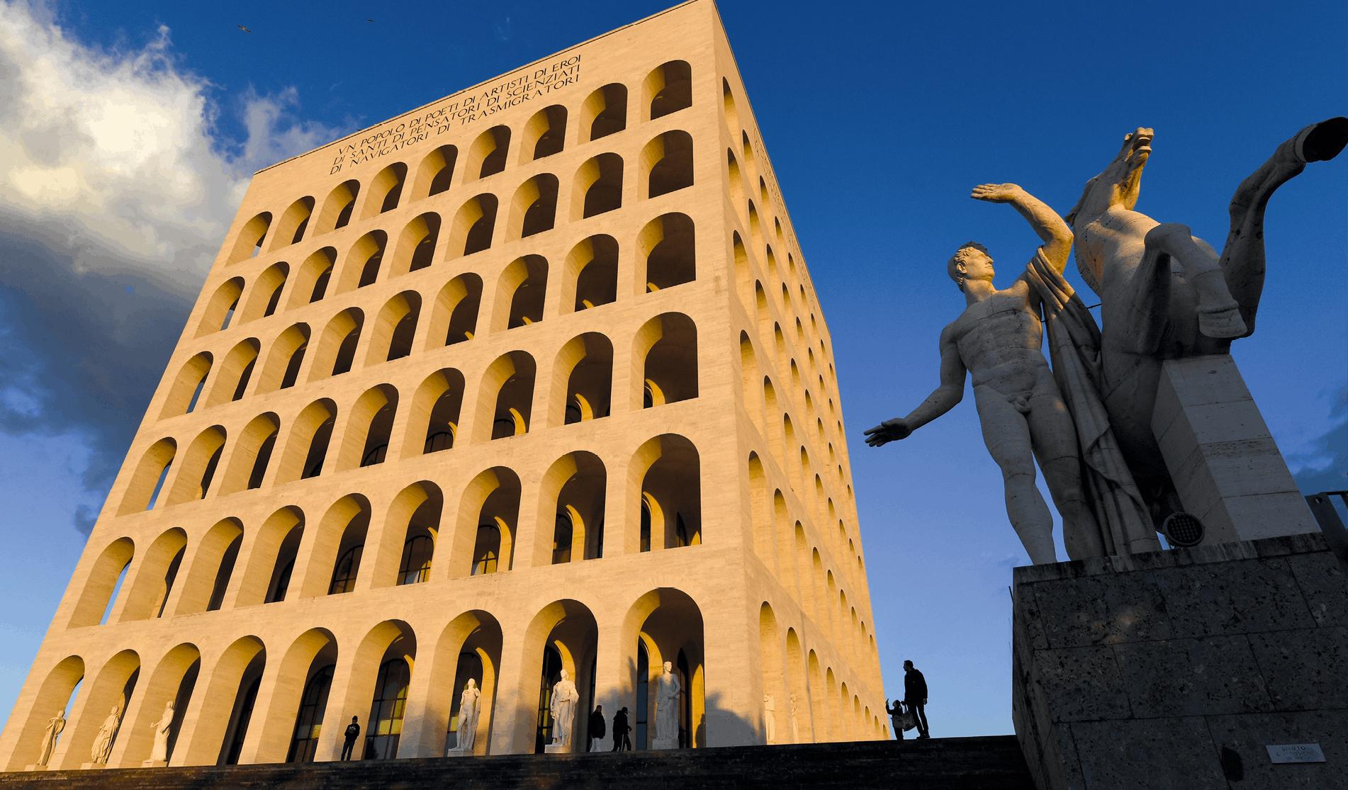 Éric Vandeville, Palais de la civilisation italienne (1939), 2015, photographie