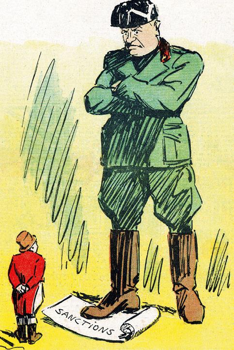 Gabriel Gobin, caricature dans Le Pèlerin, 5 juillet 1937