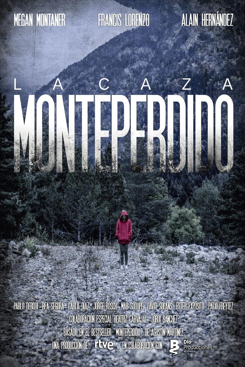 Cartel de la serie La caza. Monteperdido, Miguel Sáez y Antonio Mercero, 2019