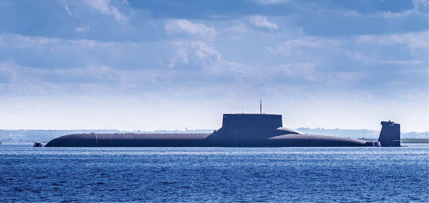 Continuité - Activité B - À la découverte des valeurs intermédiaires - sous-marin nucléaire d'attaque