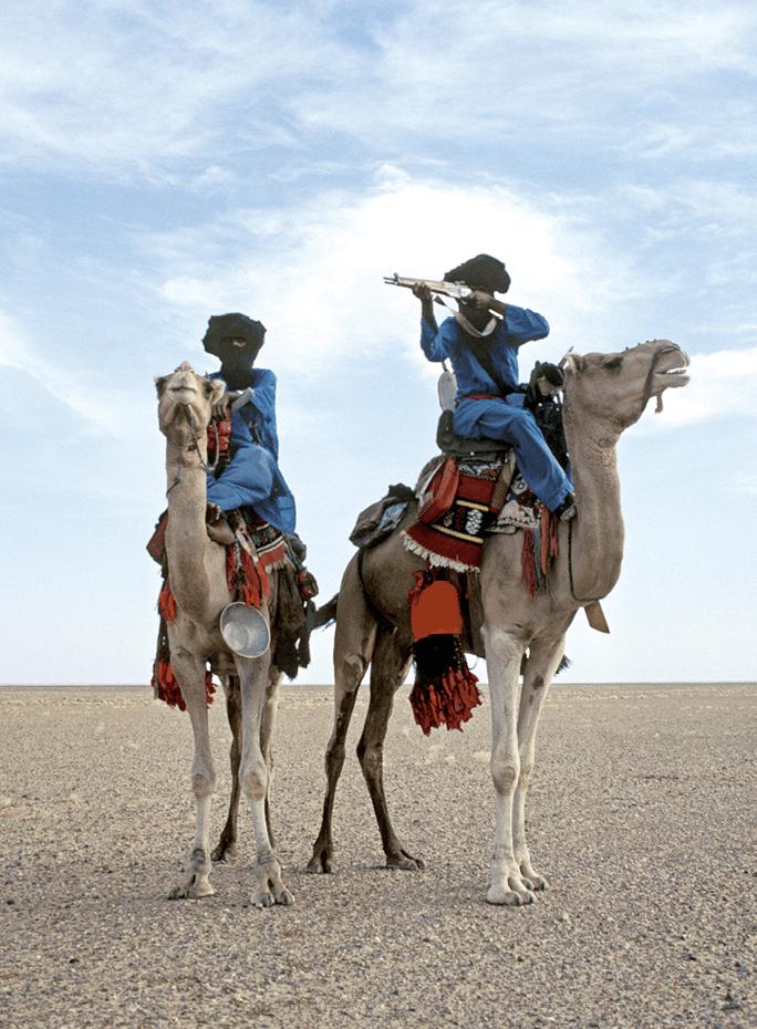 Frans Lemmens, Touaregs rebelles, 2000, photographie.