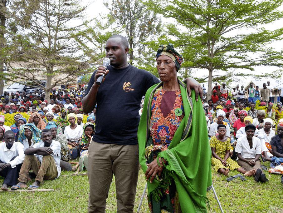 Emmanuel Sehene Ruvugiro, 2017, photographie. Semaine du deuil en mémoire des victimes du génocide tutsi