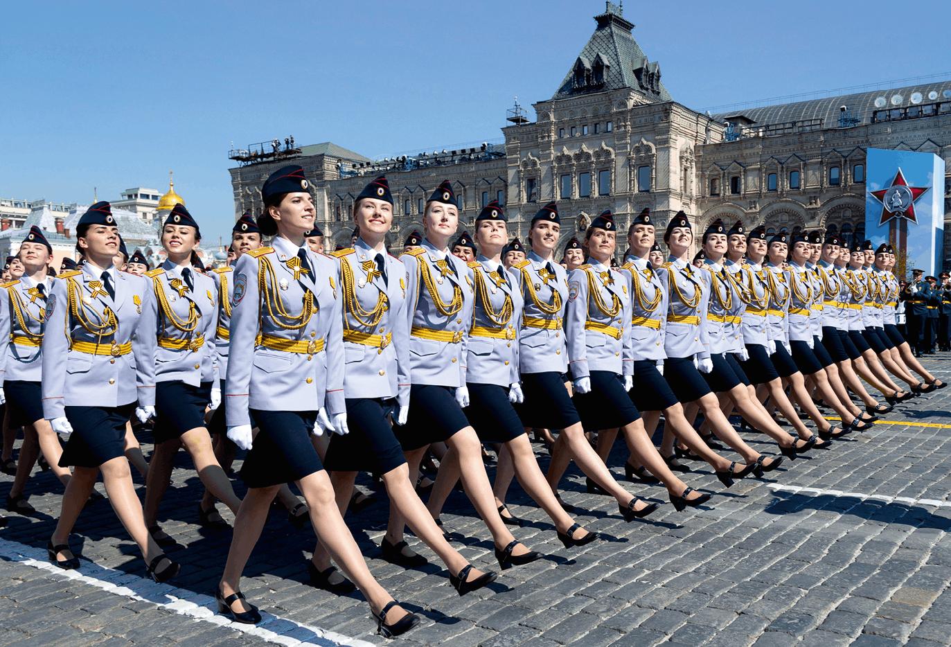 Célébration du 74e anniversaire de la victoire des Soviétiques sur les nazis à Moscou, Mikhaïl Svetlov, 7 avril 2019, photographie.
