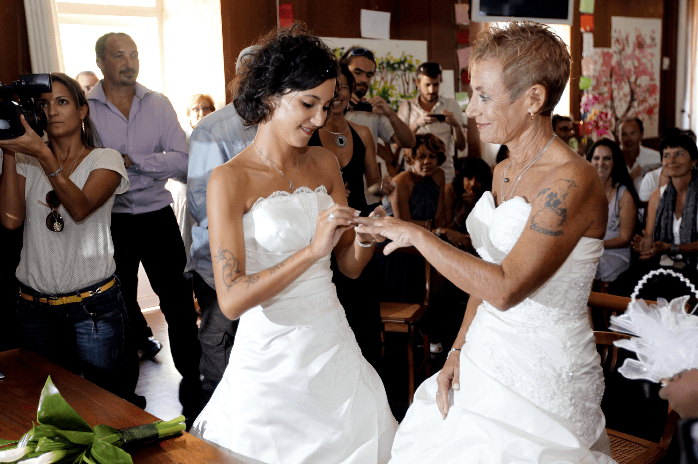 Premier mariage entre deux femmes