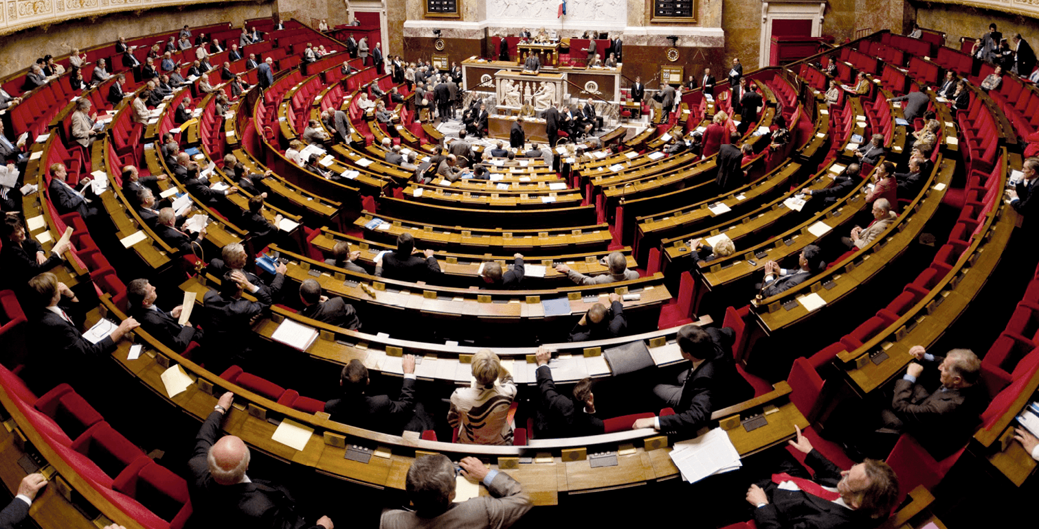 photographie de l'Assemblée nationale