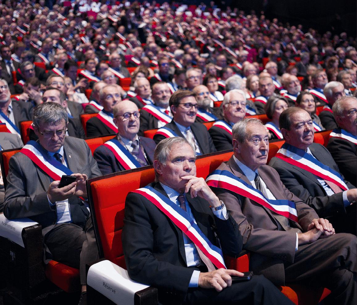 Photographie du congrès des maires de France