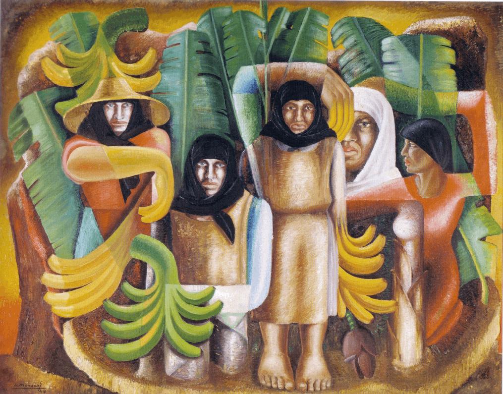 Felo Monzón, Platanal, 1948