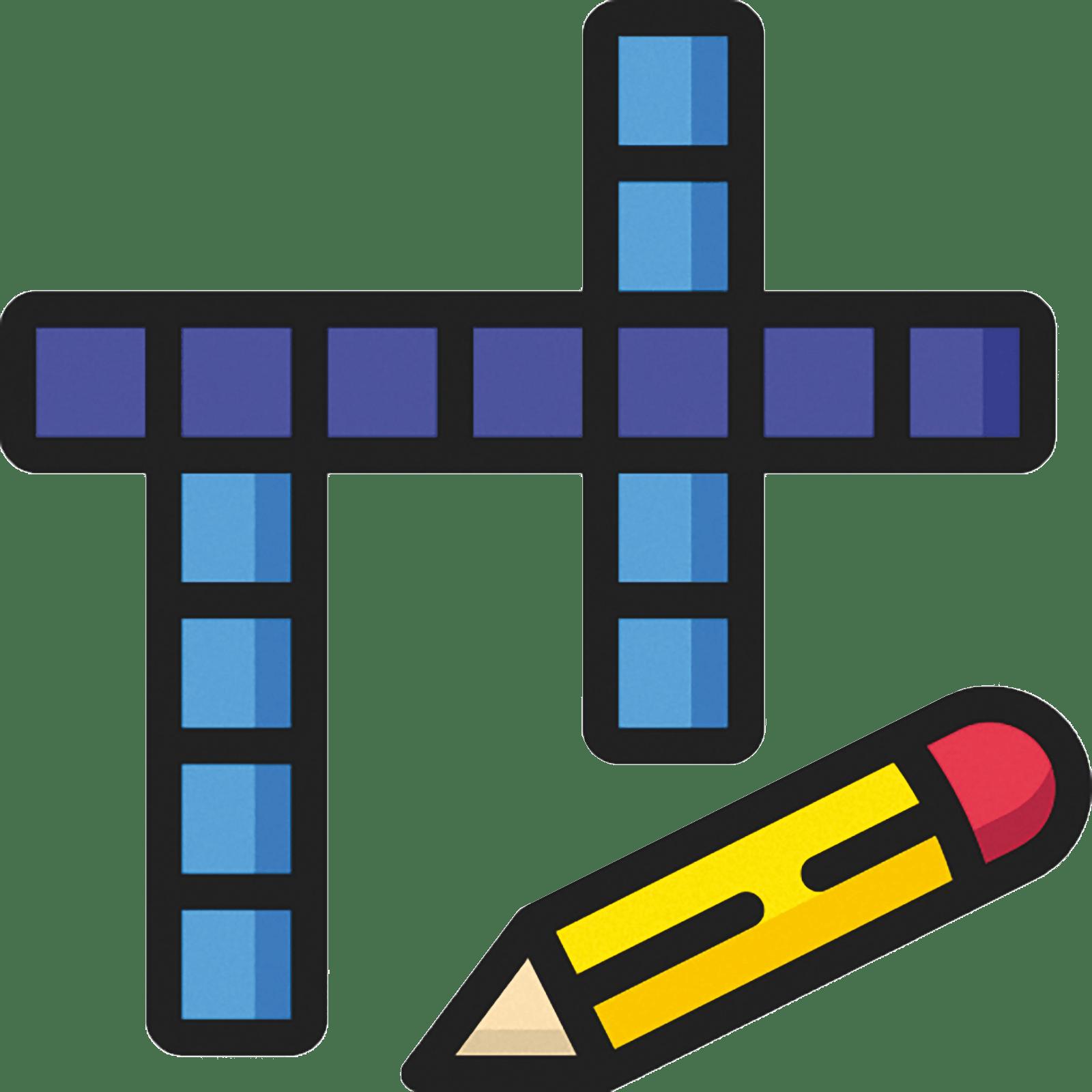 crosswords drawing