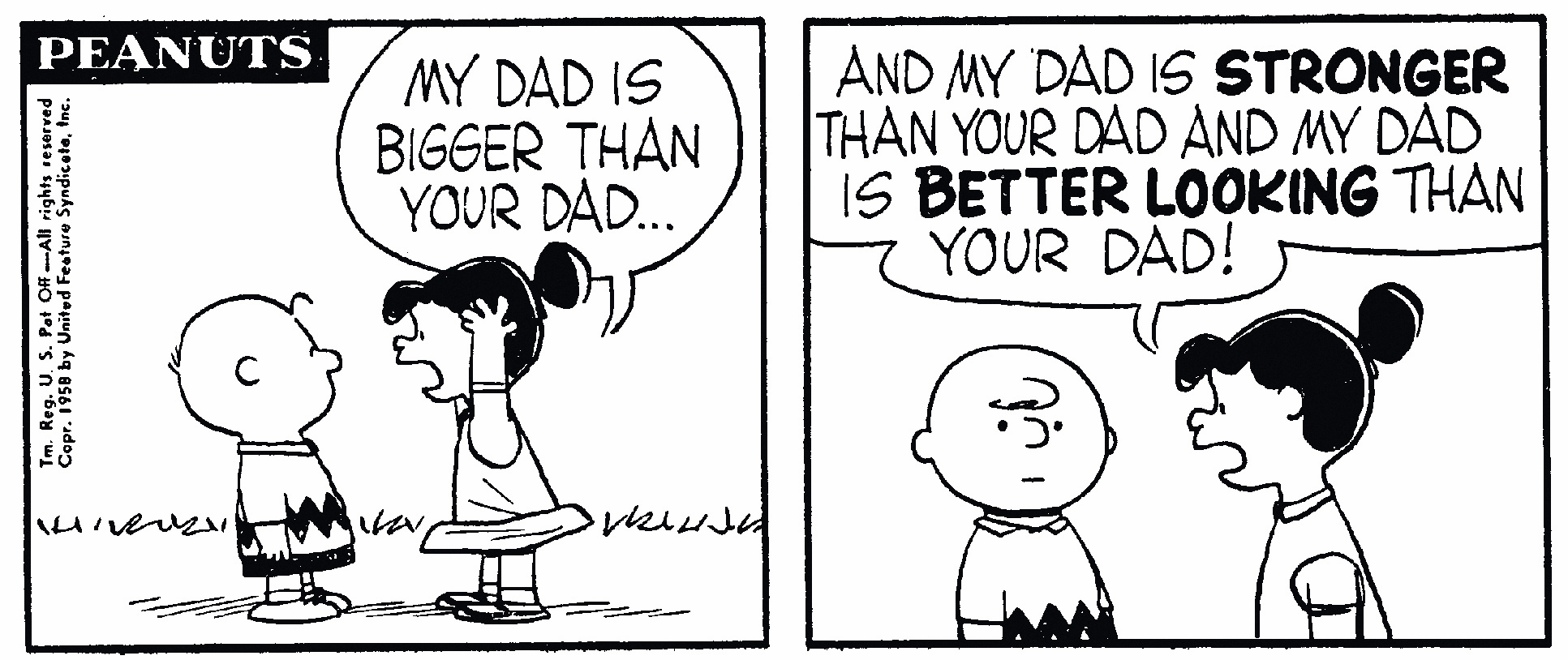 Cartoon Peanuts by Charles Schultz