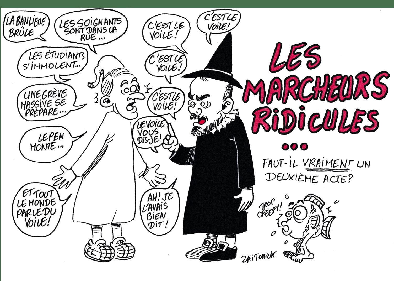 Zaïtchick, 16 novembre 2019, caricature.