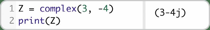 Cahier Python Expertes nombres complexes