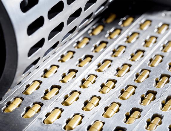 Chaîne de production de médicaments
