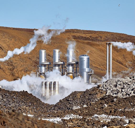 Centrale géothermique