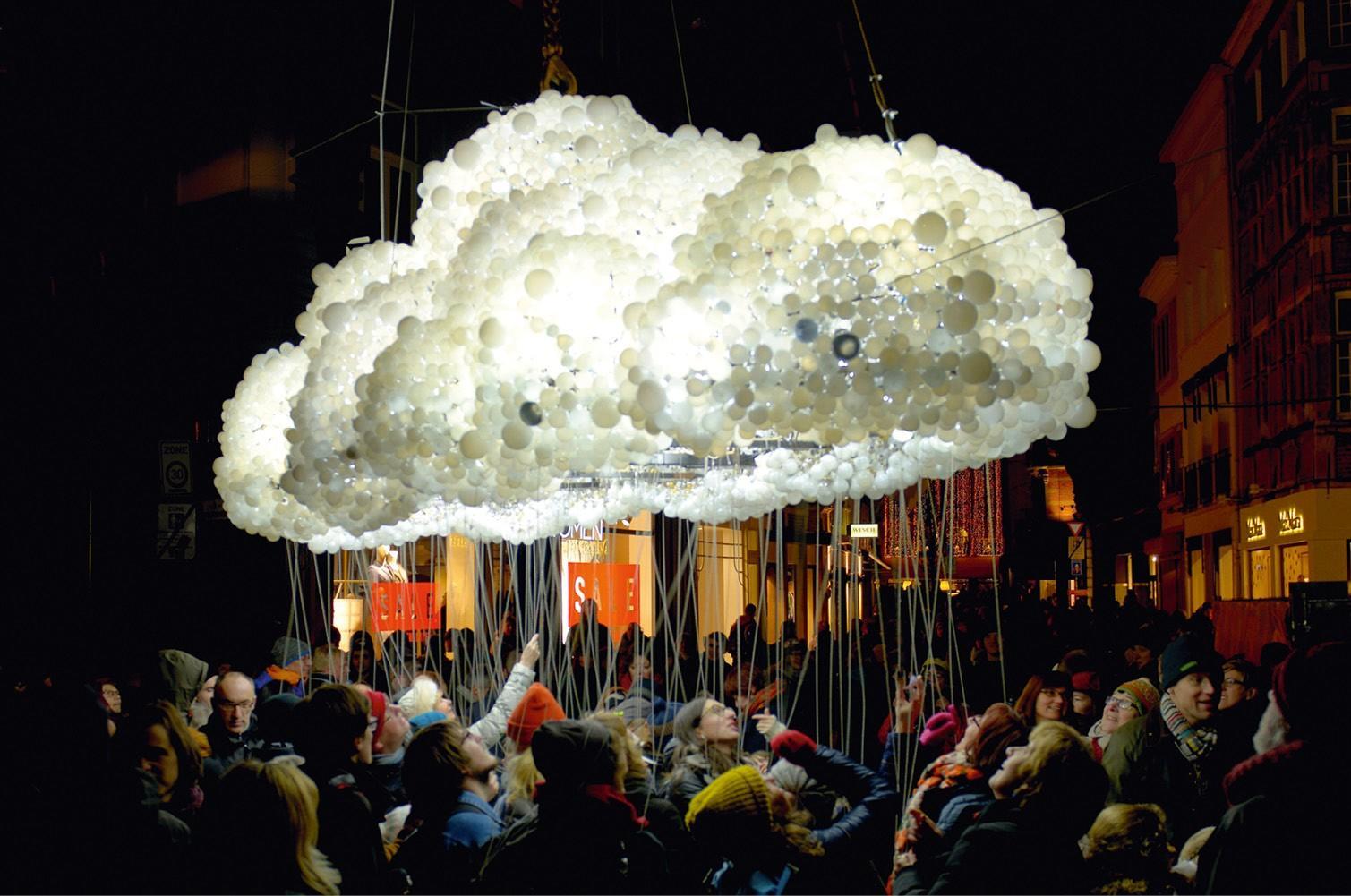 Cloud, an art installation in Belgium.