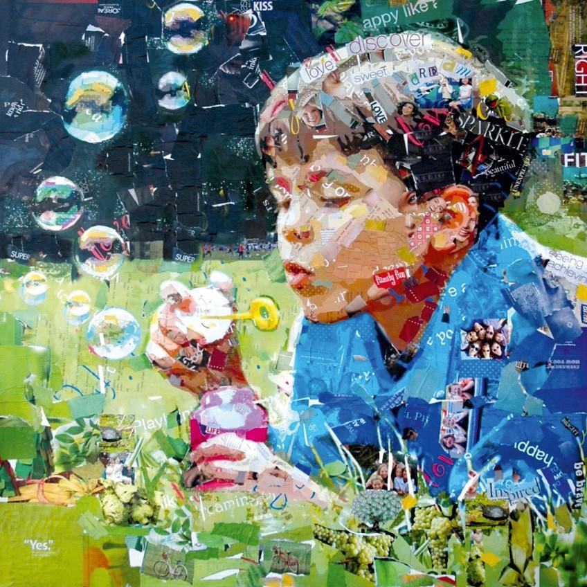 Blowing Bubbles, by Derek Gores.