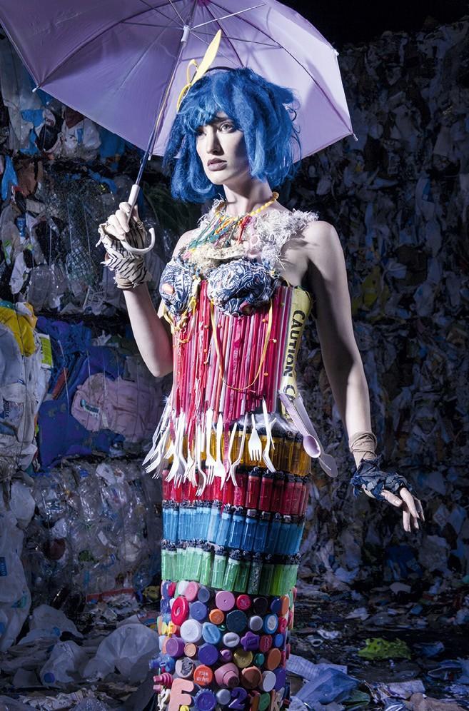 White Trash, by Marina DeBris, photo by Lisa Bevis.