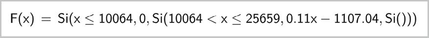 maths spé - chapitre 7 - Compléments sur la dérivation - TP1. Imposition par tranches