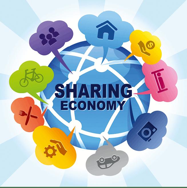 Dictionnaire visuel, sharing economy
