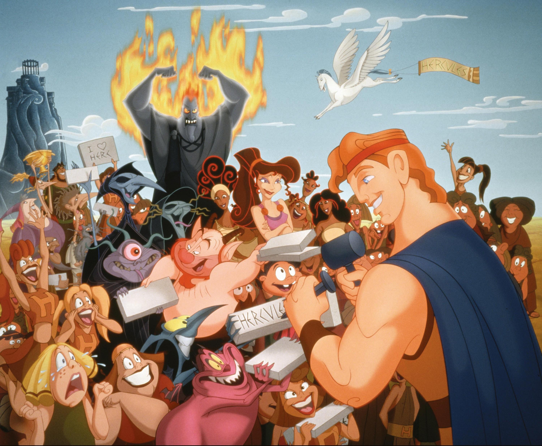 Image extraite du dessin animé Hercule