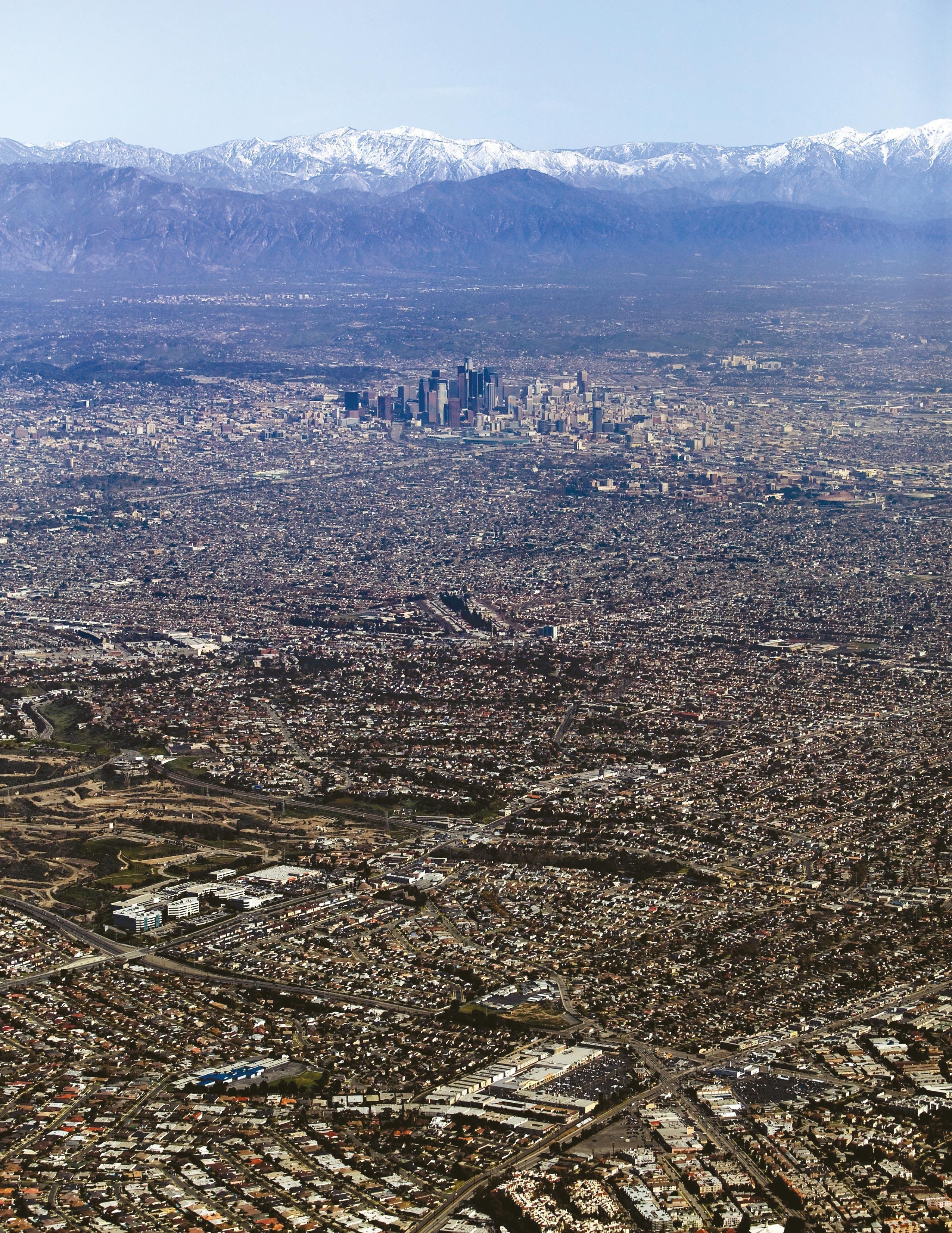 La ville de Los Angeles