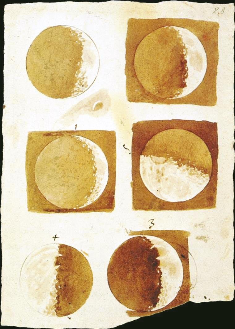 <stamp theme='his-green2'>Doc. 1</stamp> Phase de la Lune
