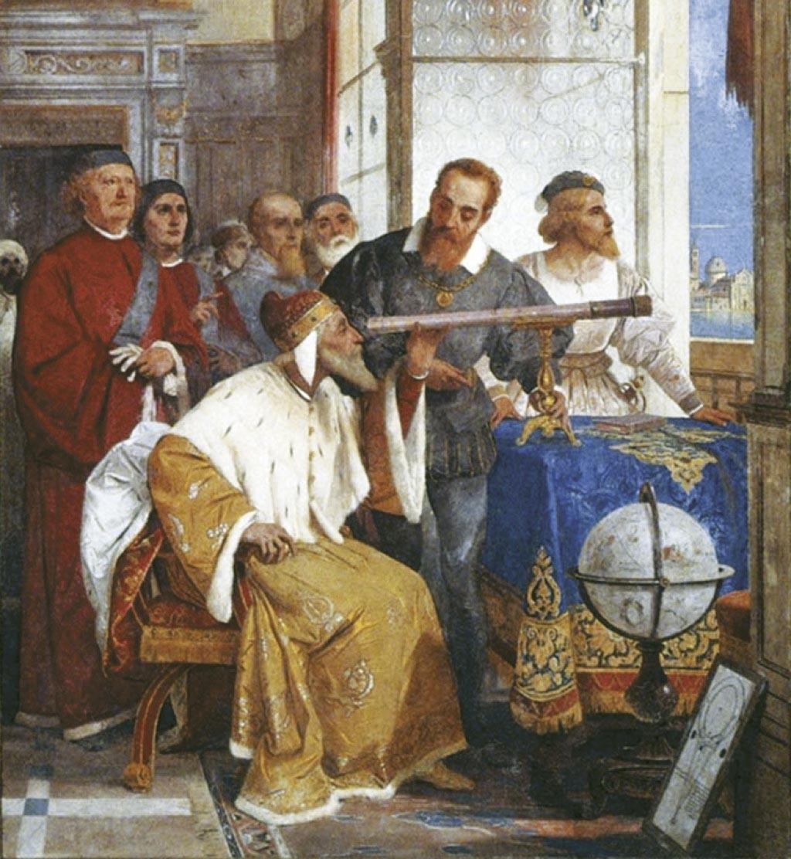 <stamp theme='his-green2'>Doc. 1</stamp> Les observations scientifiques de Galilée