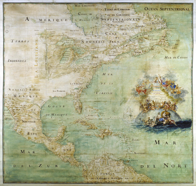 Ex. 9 Carte de l'Amérique