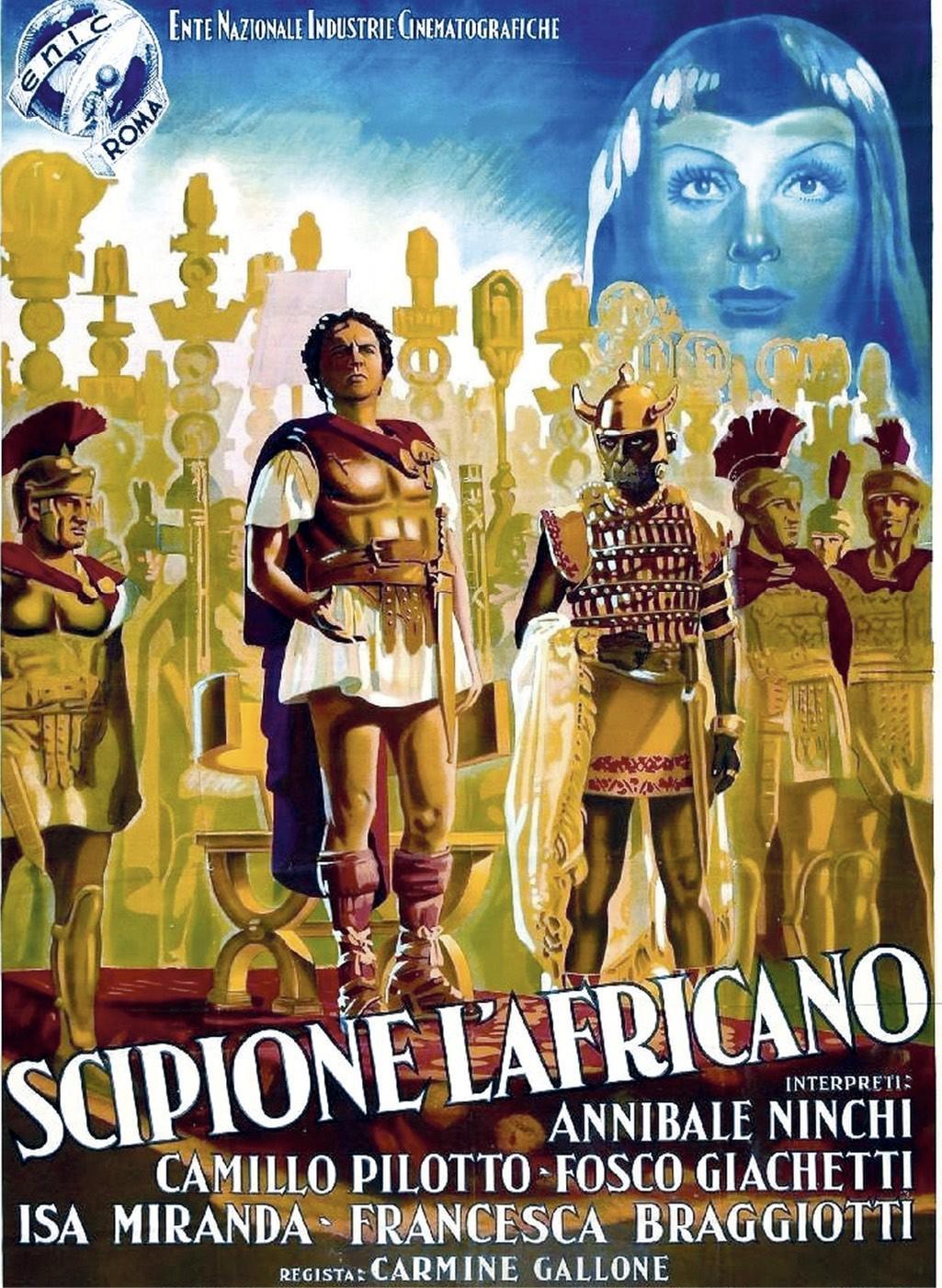Affiche pour Scipion l'Africain