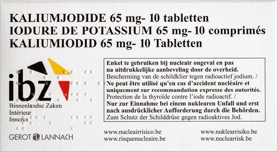 Dosage par étalonnage - Iodure de potassium