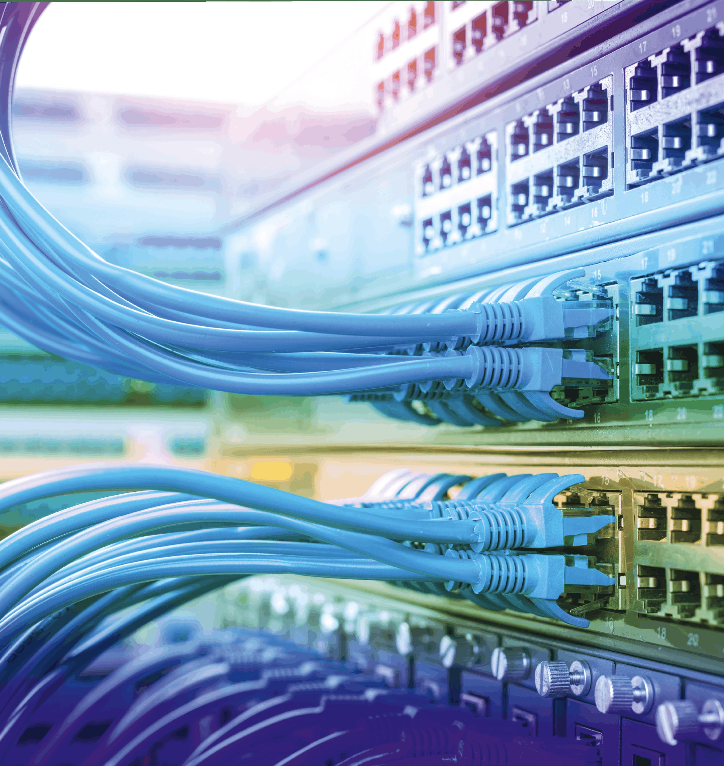 Cables de réseau internet - Ouverture