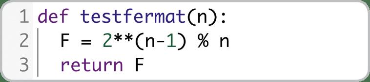 maths expertes - chapitre 5 - Nombres premiers - TP1. Test de primalité de Fermat - méthode 2