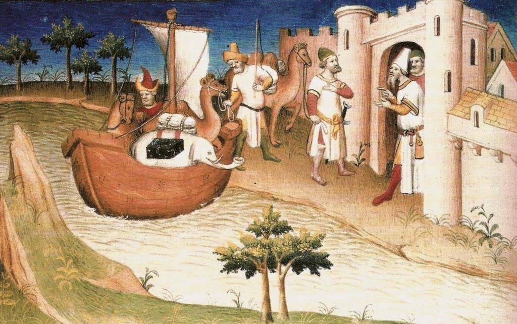 Ex. 9 Les Voyages de Marco Polo
