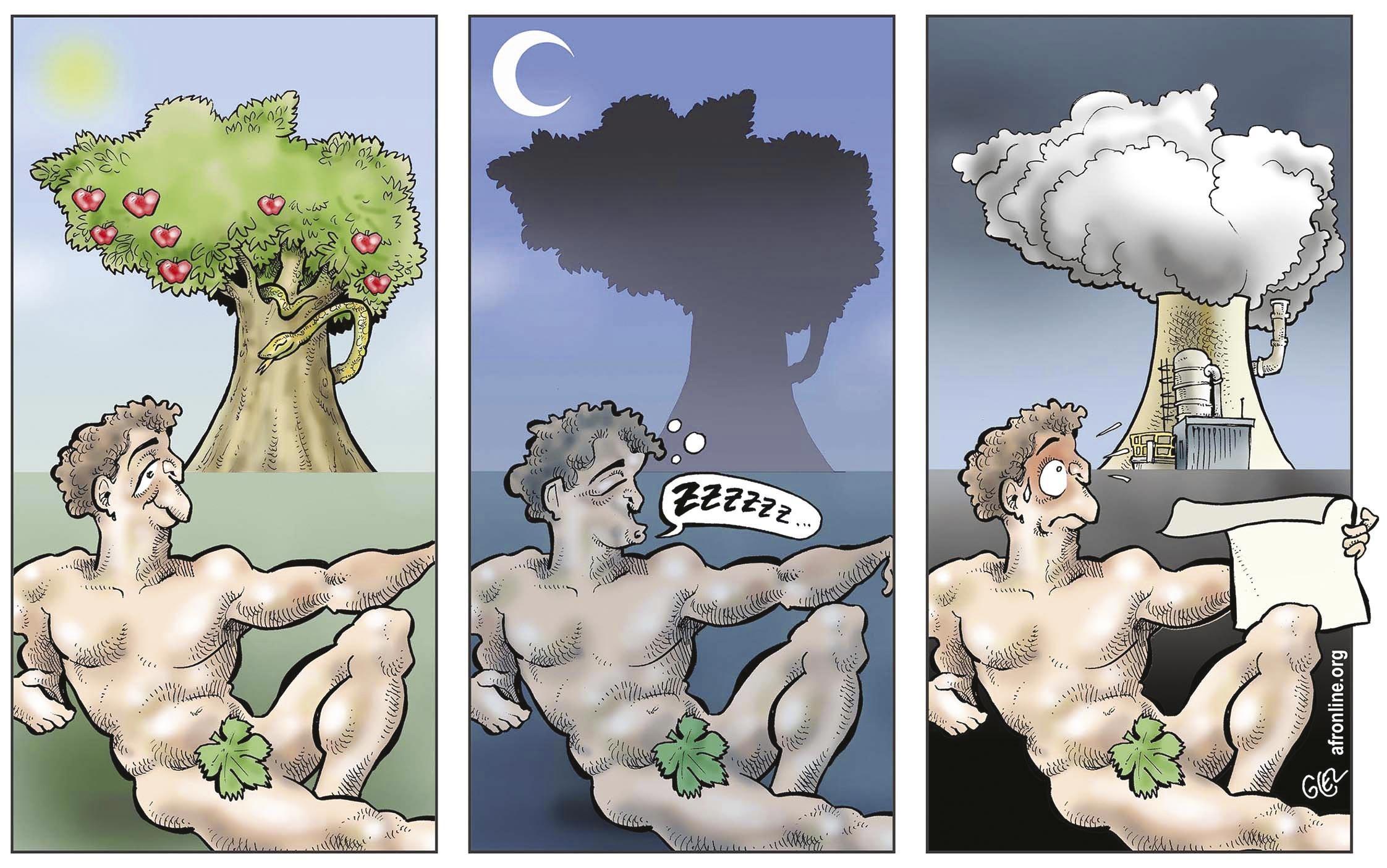 Le Jardin d'Eden en mutation